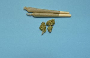 cannabis joint blowen