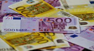 euro's geld budgetten