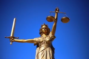 vrouwe justitia gerechtshof