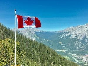 Canada vlag ondernemers cannabis
